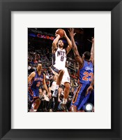 Framed Deron Williams 2011-12 Action