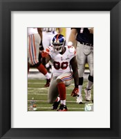 Framed Jason Pierre-Paul Super Bowl XLVI Action