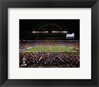 Framed Lucas Oil Stadium Super Bowl XLVI