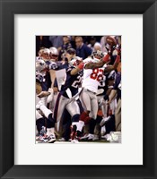 Framed Mario Manningham Catch Super Bowl XLVI