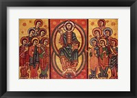 Framed Altar frontal from La Seu d'Urgell or of the Apostles