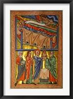 Framed Angel Warning the Sleeping Three Magi Not to Return to Herod