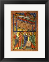 Framed Angel Warning the Sleeping Three Magi Not to Return to Herod