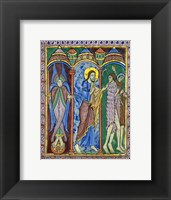 Framed Albans Psalter: Expulsion from Paradise