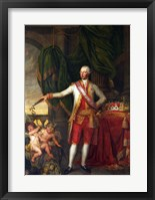 Framed Portrait of the Emperor Joseph II