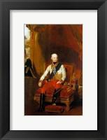 Framed Portrait of Francis I, Emperor of Austria