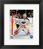 Framed Niklas Backstrom 2011-12 Action