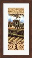Framed Villa In Tuscany