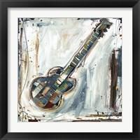 Framed Imprint Guitar