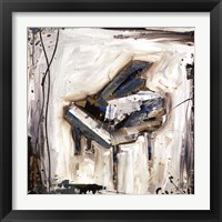 Framed Imprint Piano