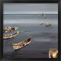 Framed Open Sea