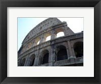 Framed Low Angle View of the Colosseum