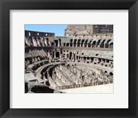 Framed Inside Rome's Colosseum
