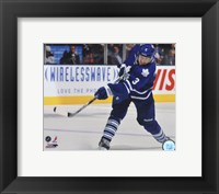Framed Dion Phaneuf 2011-12 Action