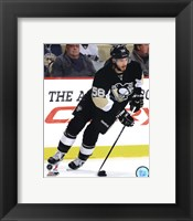 Framed Kris Letang 2011-12 Action