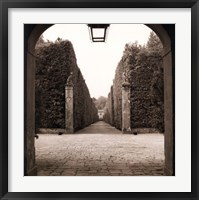 Framed Giardini Portico
