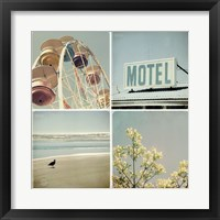 Framed Summer Memories 1, Motel