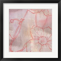 Framed Anemone I