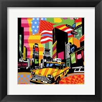 Framed New York Taxi II