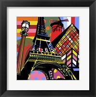 Framed Paris Pop