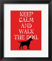 Framed Keep Calm (Labrador)