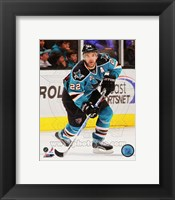 Framed Dan Boyle 2011-12 Action