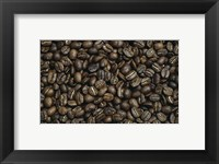 Framed Close-up of coffee beans