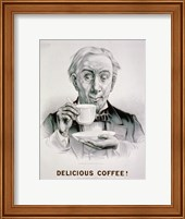 Framed Delicious Coffee!
