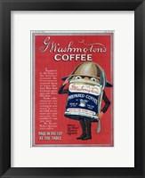 Framed Washington Coffee New York Tribune