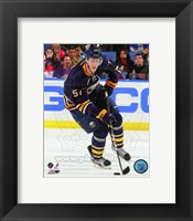 Framed Tyler Myers 2011-12 Action