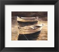 Framed Sienna Boats