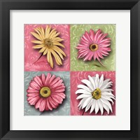 Framed Blooming Collection I
