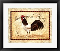Framed Barnyard King