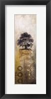 Framed Silent Tree I