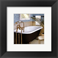 Framed Afternoon Bath I