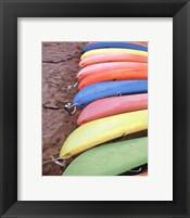 Framed Kayaks I