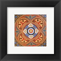 Framed Baroque Tiles I