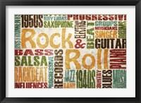 Framed Rock & Roll