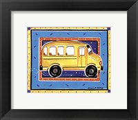 Framed School Bus