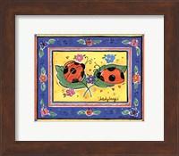 Framed Ladybugs