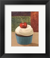 Framed Cherry Cupcakes I