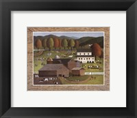 Framed Family Barbecue