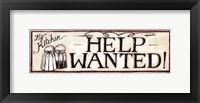 Help Wanted - mini Framed Print