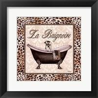 Framed Leopard Bathtub