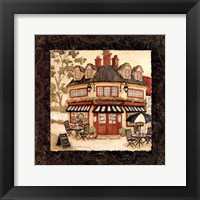 Quaint Cafe I Framed Print