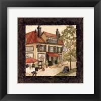 Quaint Cafe II Framed Print