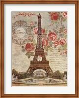 Framed Dreaming Of Paris