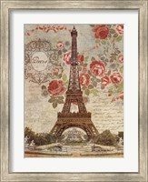 Framed Dreaming Of Paris