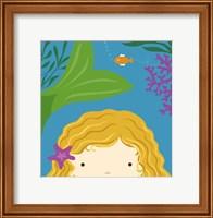 Framed Peek-A-Boo Mermaid