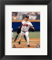 Framed Greg Maddux Action